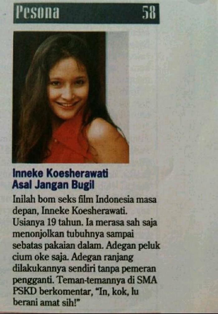 Jual Majalah Forum edisi 28 April 1994, ada artikel Inneke Koesherawati -  Kota Tangerang Selatan - Hermawan Books Corner   Tokopedia