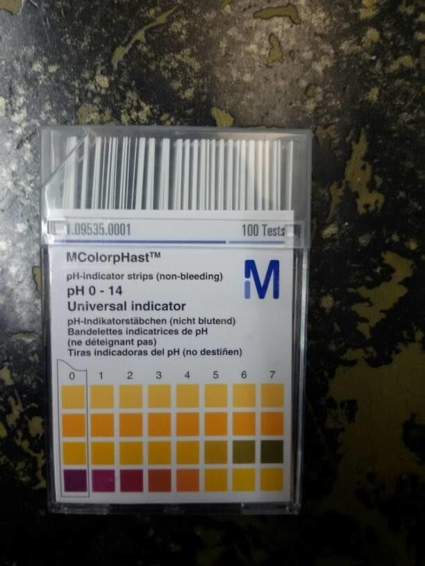 Indikator Kertas PH Merc Buatan Jerman