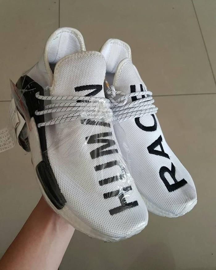 6a6335a88 Sepatu Adidas Nmd Human Race Premium Original  sneakers Putih White harga  ...
