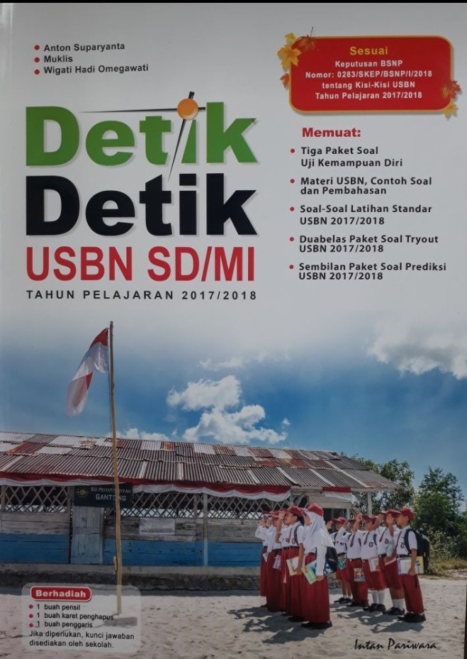 Buku detik-detik un sd/mi th 2017/2018 intan pariwara