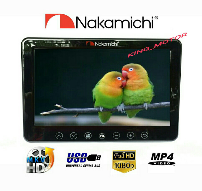 harga Monitor headrest clip on nakamichi nhm-090 (9 inch) Tokopedia.com