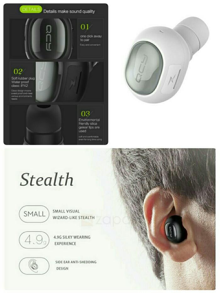 harga Headset Kecil Unik Wireless Headphone Earphone Type Qcy Q26 Tokopedia.com