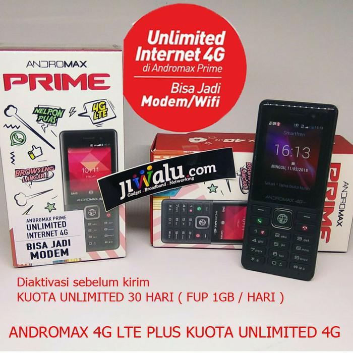 Smartfren andromax prime 4g lte free kuota unlimited 1 bulan
