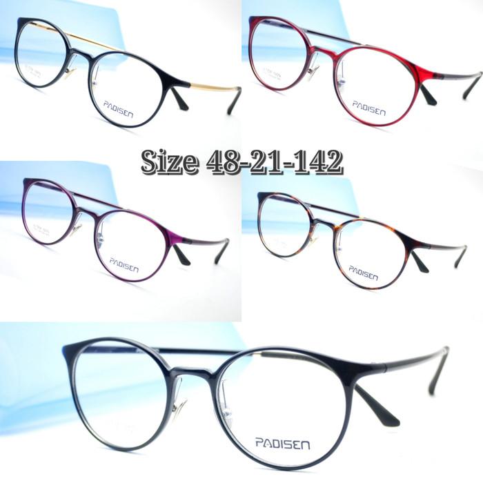 harga Frame kacamata padisen 17051 kacamata vintage kacamata korea style  Tokopedia.com 11dd463729