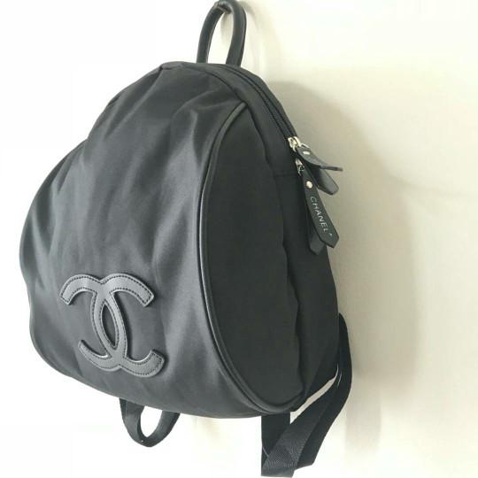 fbfc730e6f98 Tas backpack chanel vip patent original counter gift