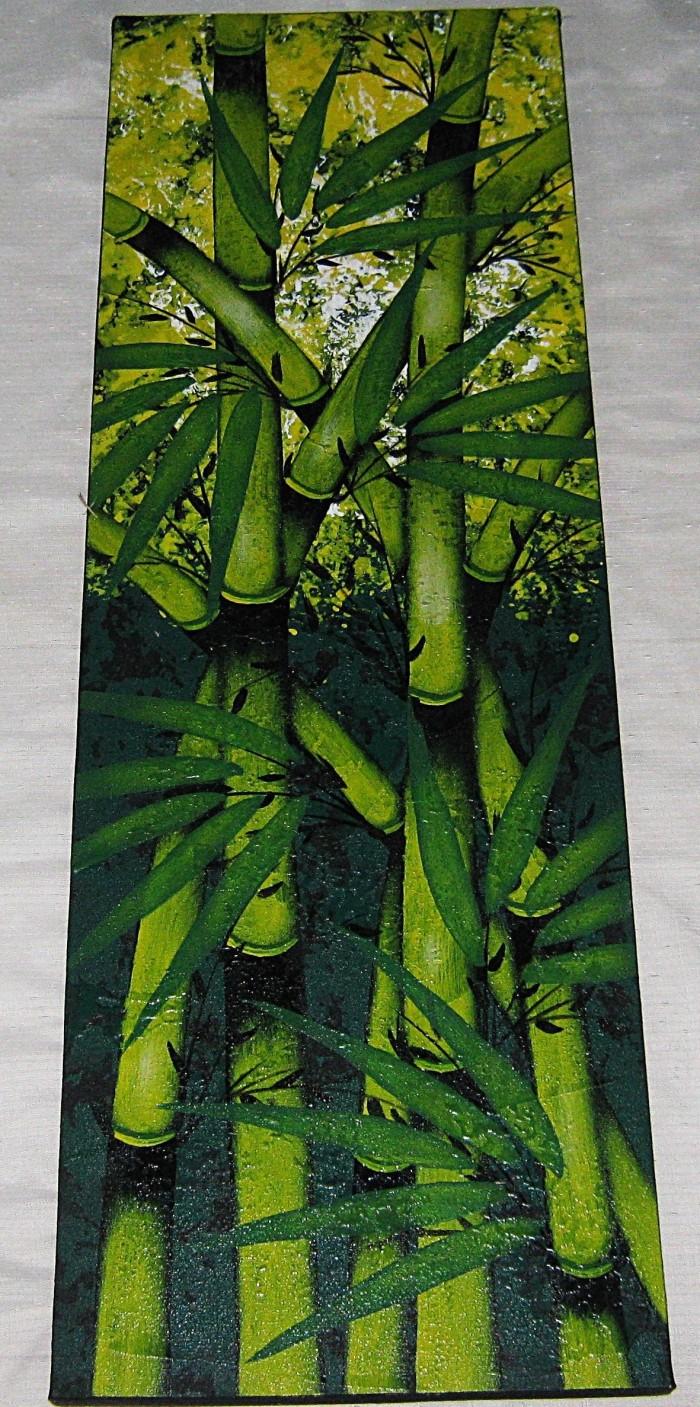 Jual Lukisan Asli Hiasan Dinding Kantor FengShui Pohon Bambu Bb355 Kota Surabaya Kayla88