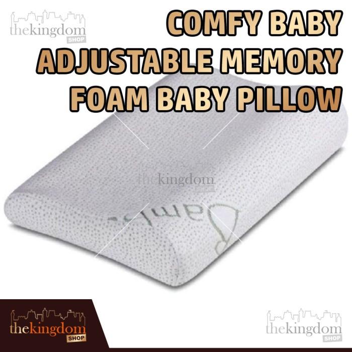 harga Comfy baby adjustable memory foam baby pillow / bantal tidur anak bayi Tokopedia.com
