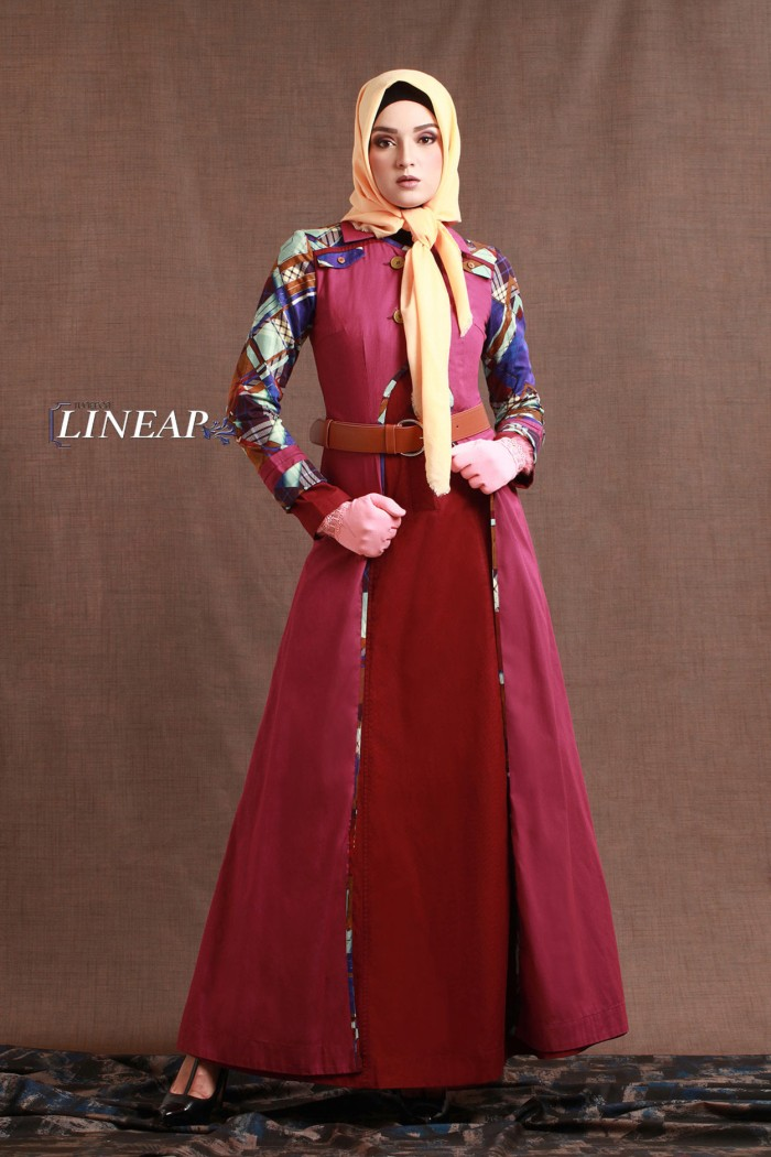 harga Maxi dress / gamis pesta - tuneeca linear t-0717039 - gamis branded Tokopedia.com