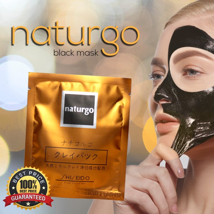 masker lumpur shiseido naturgo