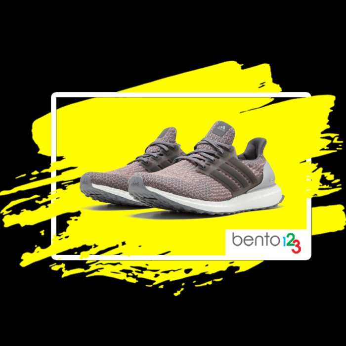 Jual Sepatu Adidas Ultra Boost 3.0 Grey Four Trace Pink Original Sneakers DKI Jakarta BENTO123 | Tokopedia