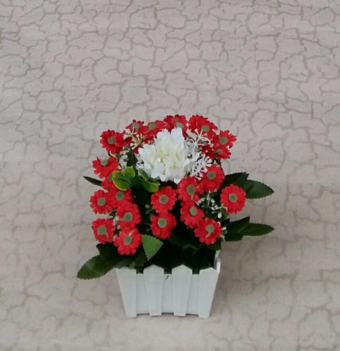 harga Bunga artificial-dekorasi-bunga meja Tokopedia.com