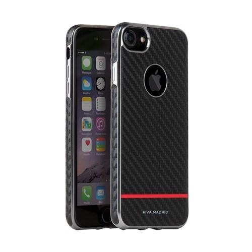 Viva madrid mirada racha - iphone 7 plus - carbon stripe red