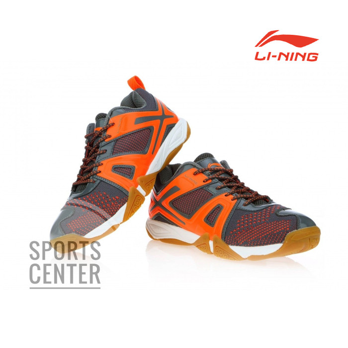 harga Best deal!! sepatu badminton lining omega aytm087 / aytm 087 grey Tokopedia.com