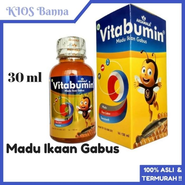 Madu Anak Vitabumin Ekstrak Ikan Gabus 130 ml Herbal Original Termurah