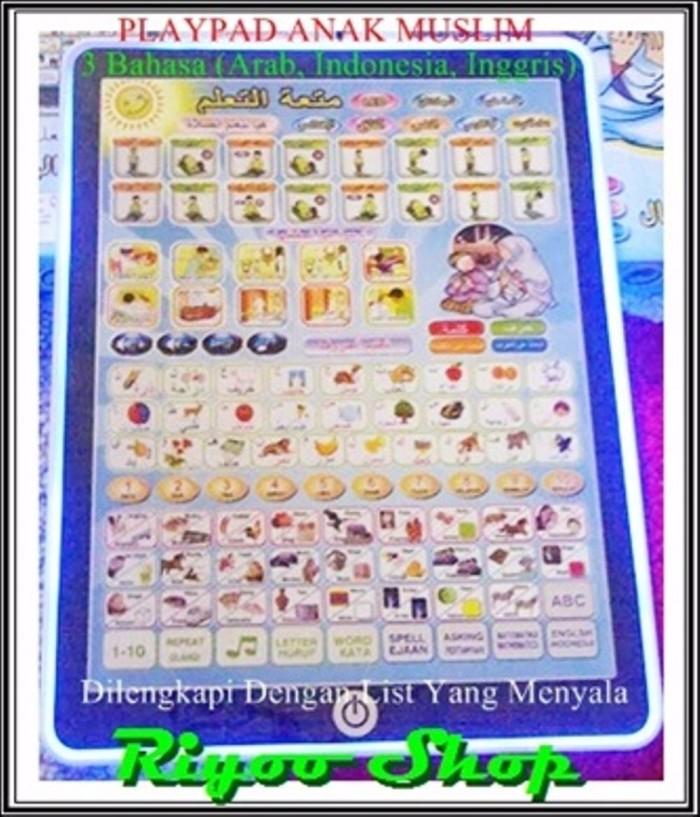 harga Playpad mainan anak muslim gawai tab tablet ipad 3 bahasa arab indon Tokopedia.com