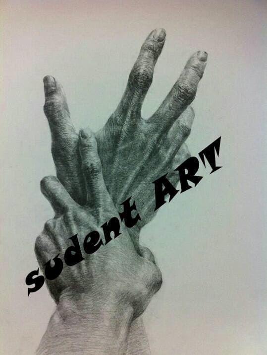 Jual Lukisan Sketsa Pensil Sangat Nyata Kota Surabaya Sudent Art Tokopedia