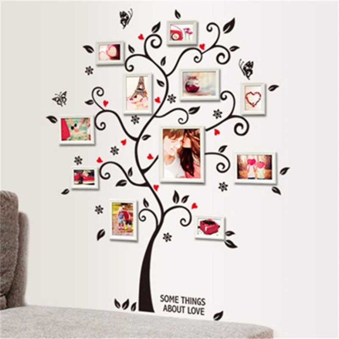 Jual Sticker Wallpaper Dinding Family Tree Bagus Awet Unik Menarik
