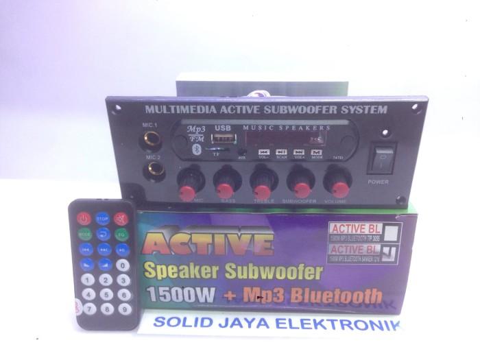harga Power aktif 150 w mp3 bluetooth + subwoofer Tokopedia.com
