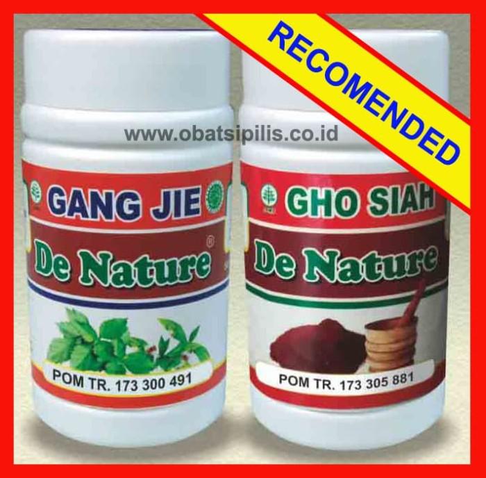 Foto Produk Obat Sipilis Kencing Nanah De Nature Gang Jie dan Gho Siah dari CV. Denature Indonesia