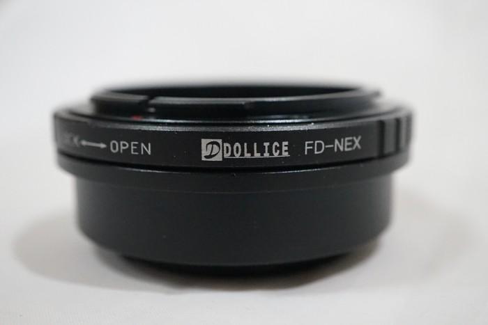 harga Dollice lens adapter - lensa canon fd to body sony e mount / fd - nex Tokopedia.com