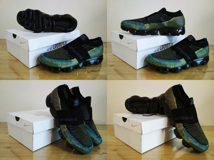 290cd9a4ca ... harga Sepatu nike casual / sneakers air max vapormax strap (multicolor)  word Tokopedia.
