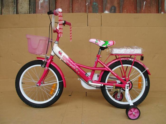 harga Sepeda anak wim cycle 18 strawberry pink Tokopedia.com