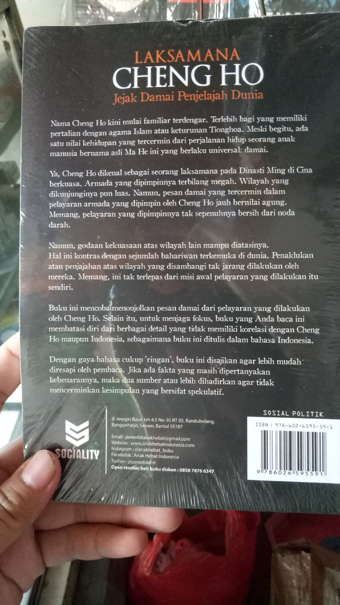 Jual Laksamana Ceng Ho Sejarah Jakarta Utara Wasurjayacyshoop