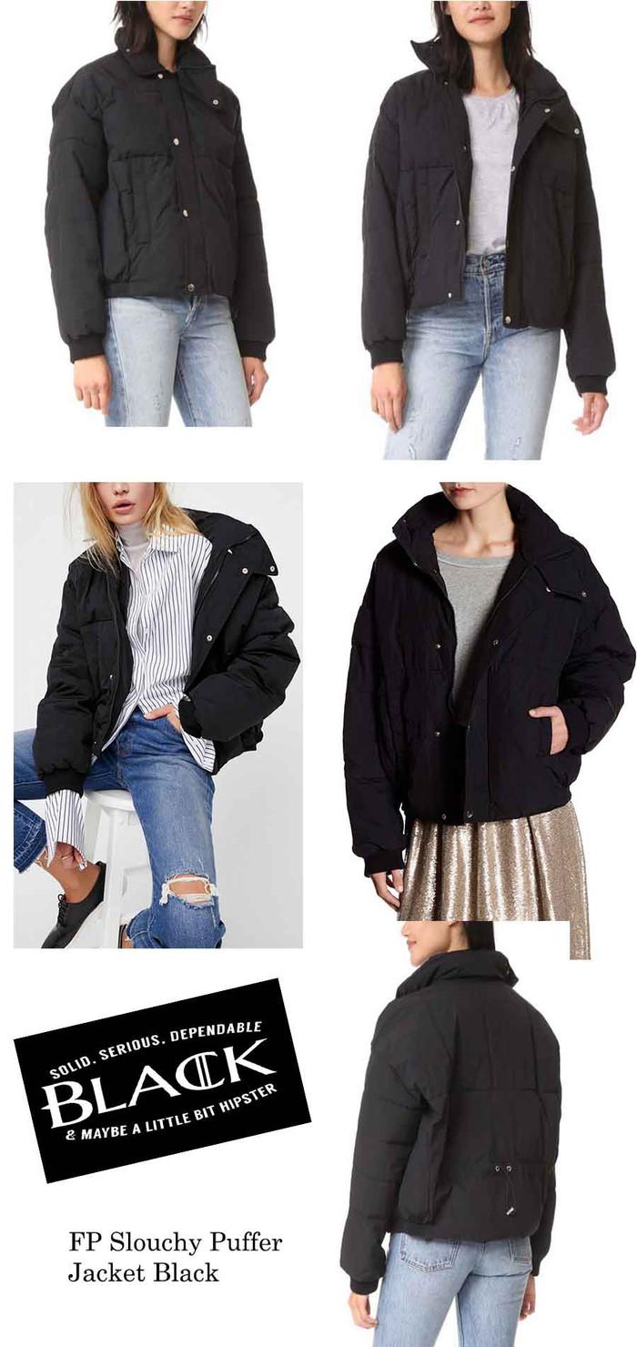 harga Big size winter coat slouchy puffer jacket Tokopedia.com