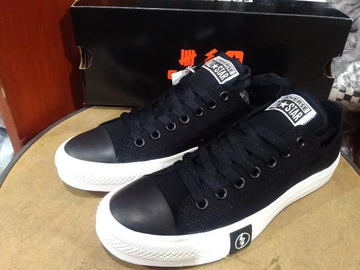 Jual Sepatu Converse All Star Undefeated Black White Premium BNIB ... 3d8f70a6ef