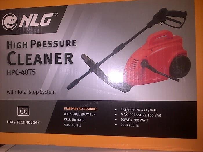 harga Nlg high pressure cleaner hpc-40ts mesin steam cuci ac mobil dan motor Tokopedia.com