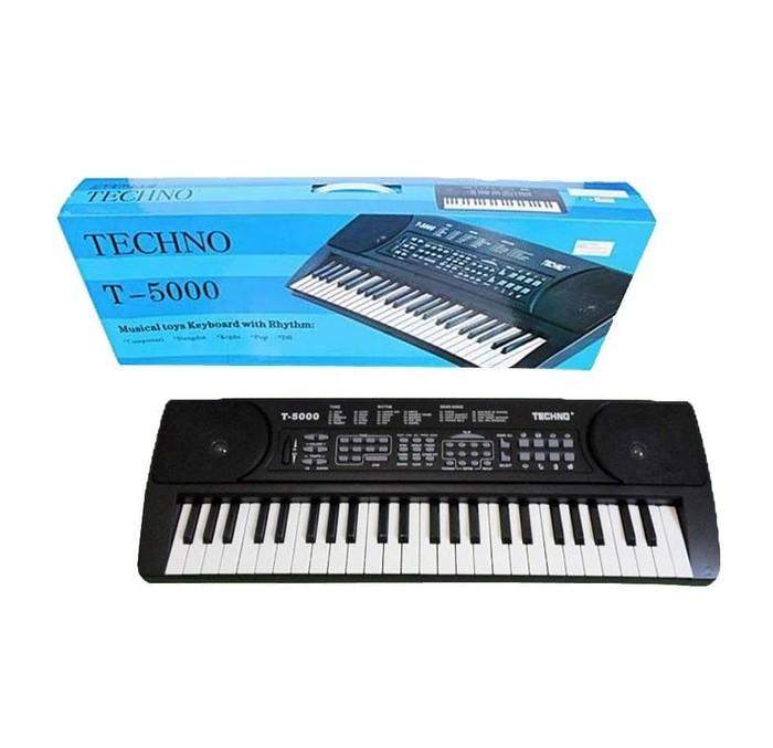 harga Keyboard techno t 5000 piano untuk anak dan pemula Tokopedia.com