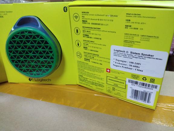 harga Logitech x50 mobile wireless speaker/speaker bluetooth Tokopedia.com