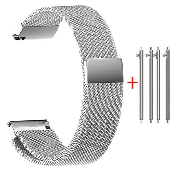 harga 18mm milanese loop stainless strap band for huawei asus fossil lg Tokopedia.com