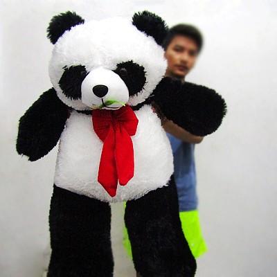 Jual Boneka Panda Pita Merah jumbo - Cahaya Amor  fa7916c1f2