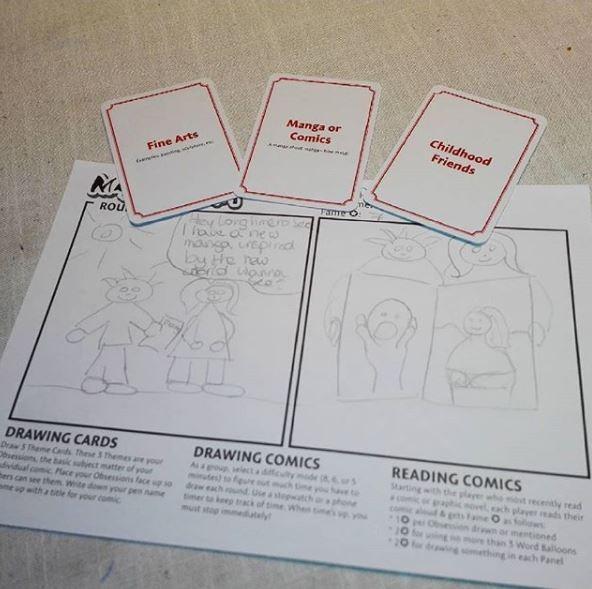 drawing game text Jual Mangaka Game Of Drawing Comic Kota Surabaya Tabletoys OS Tokopedia