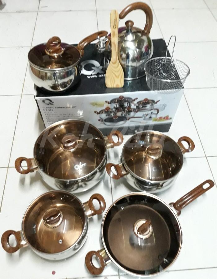 Oxone panci set / classic cookware set 12+2 pcs ox-966