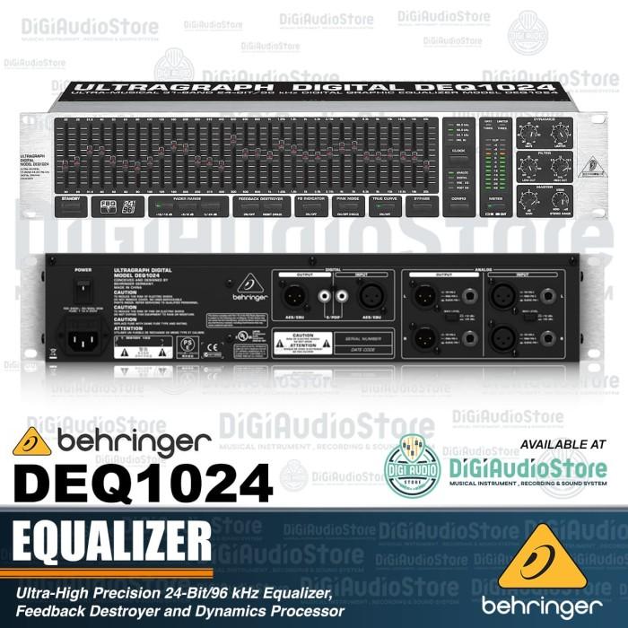 harga Behringer deq1024 [ deq 1024 ] ultragraph digital equalizer Tokopedia.com