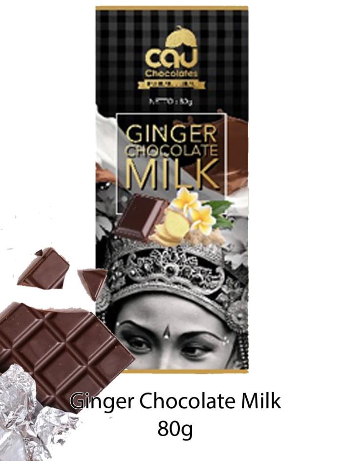 Ginger Chocolate Milk