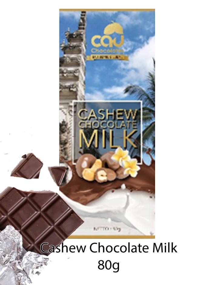 Cashew Chocolate Milk (Gold Series) 80 gr -Cau Chocolates