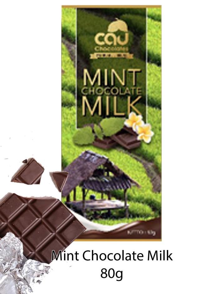 Mint Chocolate Milk (Gold Series) 80 gr -Cau Chocolates