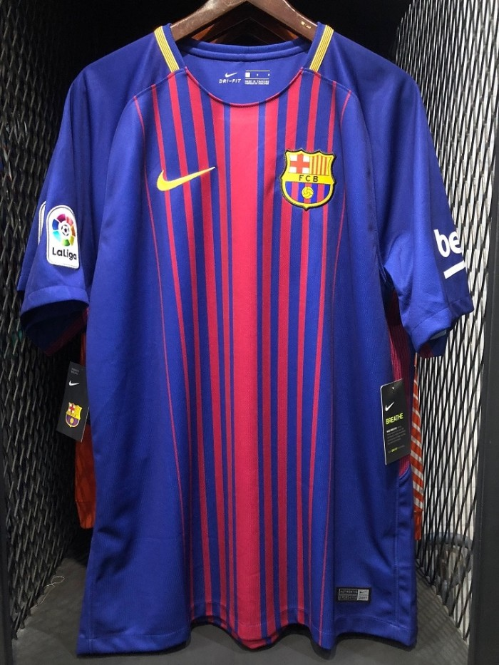 harga Jersey Original Fc Barcelona Home Season 2017-2018 Tokopedia.com