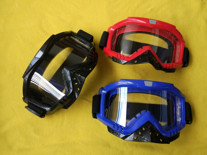 harga Goggle kaca mata kacamata helm motor cross trail 2.0 Tokopedia.com