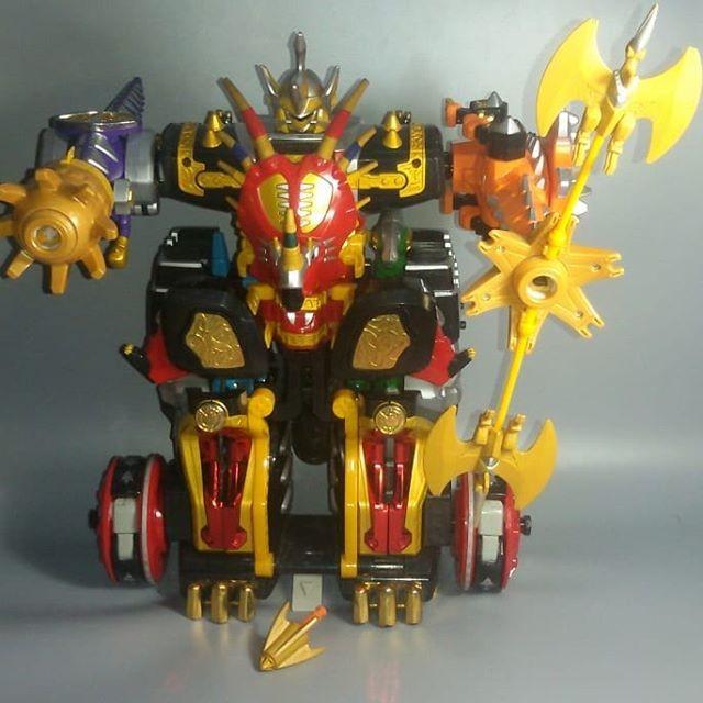 Jual Dx Maxryuu Oh Power Ranger Dino Thunder Megazord Sentai Abaranger Kota Palembang Syq Store Tokopedia