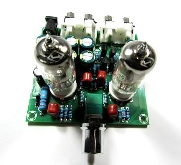 harga Kit audio pre amplifier preamp line stage tube tabung valve 6j1 flat Tokopedia.com