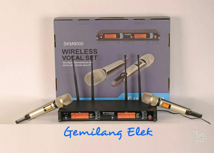 harga Mic wireless sennheiser skm9000 ( bisa ubah freqwensi) Tokopedia.com