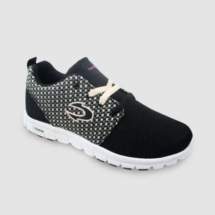harga Sepatu tomkins wanita  partners  black Tokopedia.com