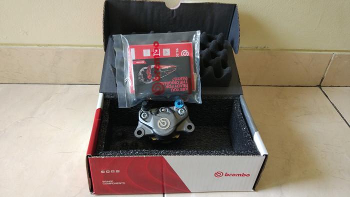harga Kaliper Brembo 2 Piston 1 Pin Xmax Nmax Aerox Cbr250rr Ninja250 Vespa Tokopedia.com