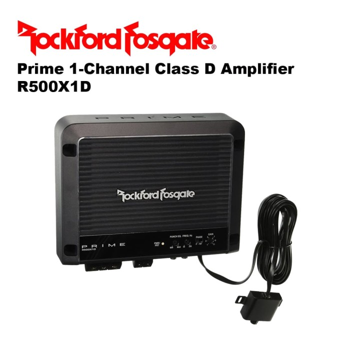 Jual Power Rockford Fosgate R500X1D Prime 1-Channel Class D Amplifier -  Performa Shop Car Audio | Tokopedia