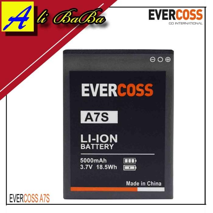 harga Baterai handphone evercoss a7s dobel power original oem batre hp batu Tokopedia.com