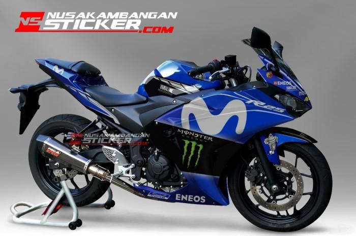 harga Decal motor sticker motor yamaha r25 movistar baru Tokopedia.com